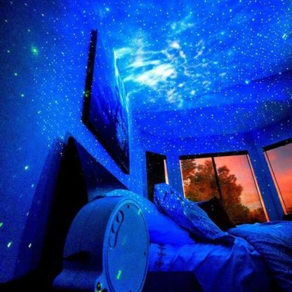 GalaxDream galaxy projector to bring space at home. Explore the universe from the comfort of your home. Galaxy projector with laser technology.