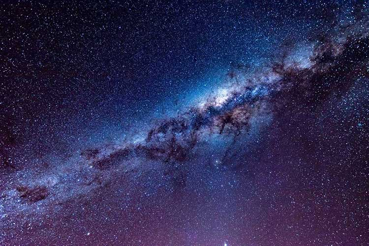 galaxy projector and our milky way galaxy