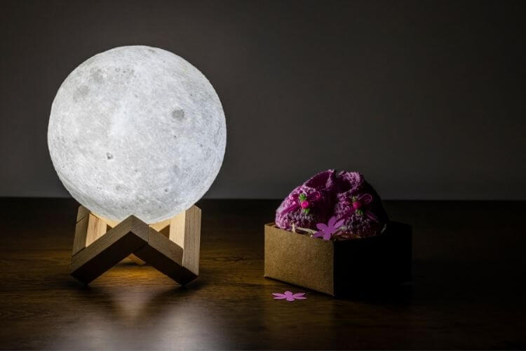 moon lamp light
